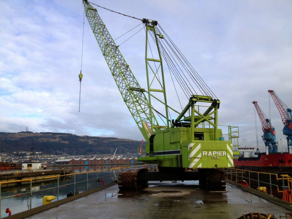 nvq assessment crawler crane
