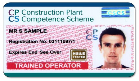 Your CPCS ticket… Get your construction training while it's hot!