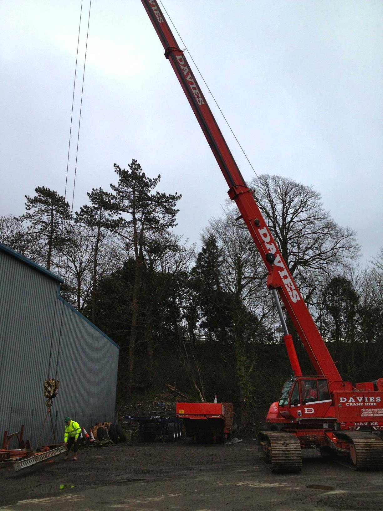Telescopic Crane Hire : Crawler crane assessments acop