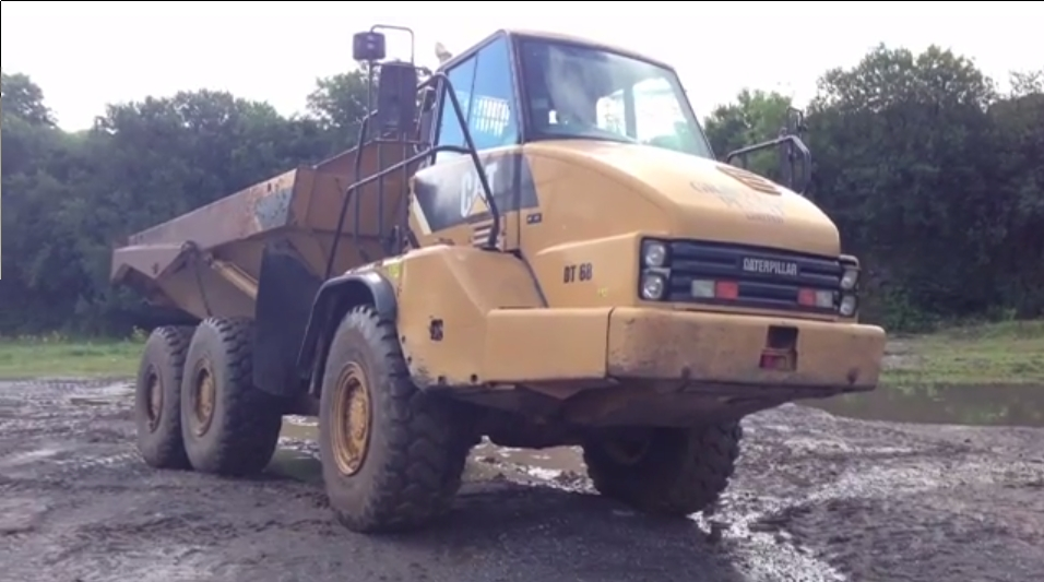 Becoming a dump truck operator in construction.