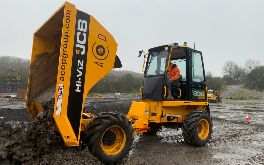 Forward tipping dumper training (March 2021)