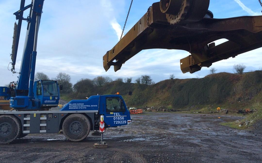 Mobile crane training (March 2021)