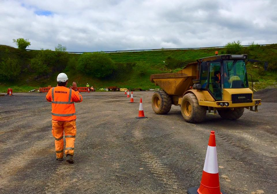 CPCS Vehicle Marshaller courses in summer 2016