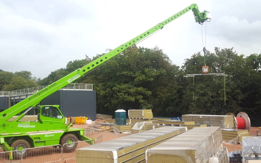 Merlo 360 telehandlers available for hire now: Wales/England