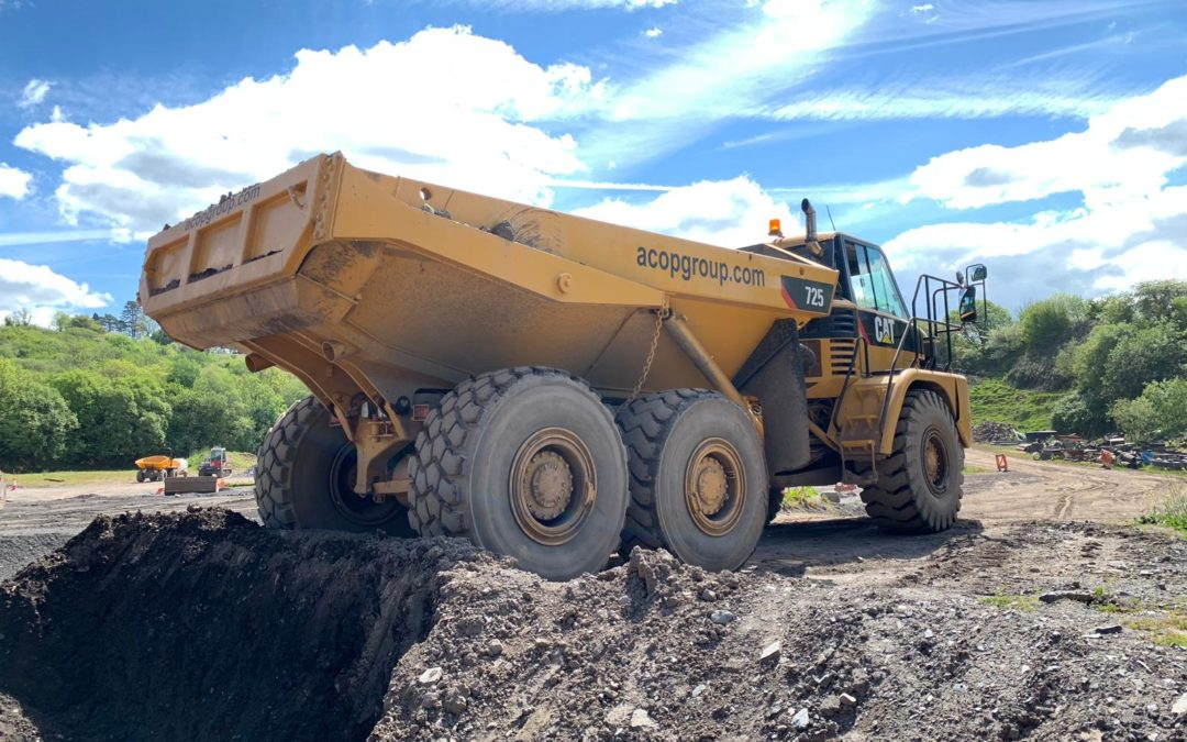 Articulated Dumptruck ADT training (April 2020)