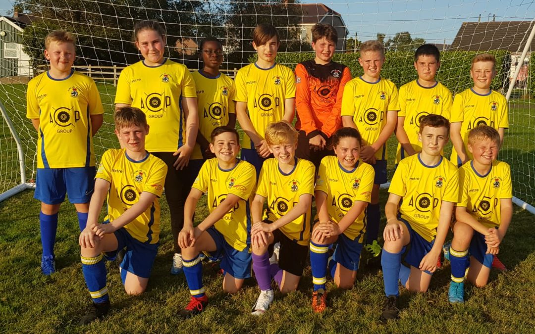 ACOP Group are proud sponsors of Drefach FC (under 12s) #WeAreDrefach