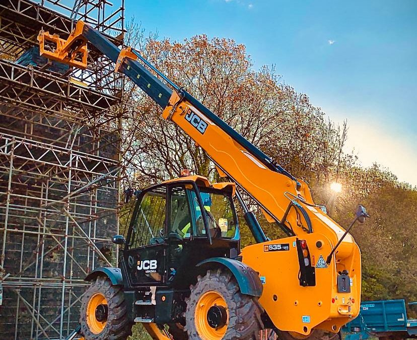 Telescopic handler training (May 2021)