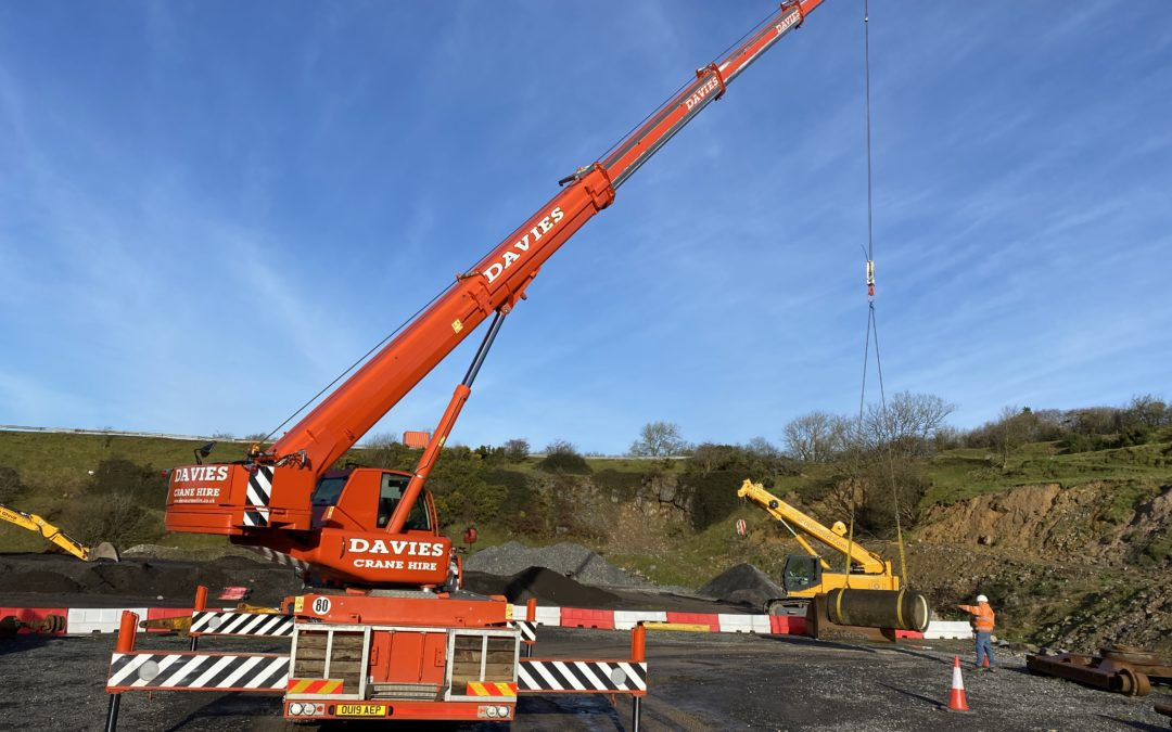 Mobile crane training (April 2021)